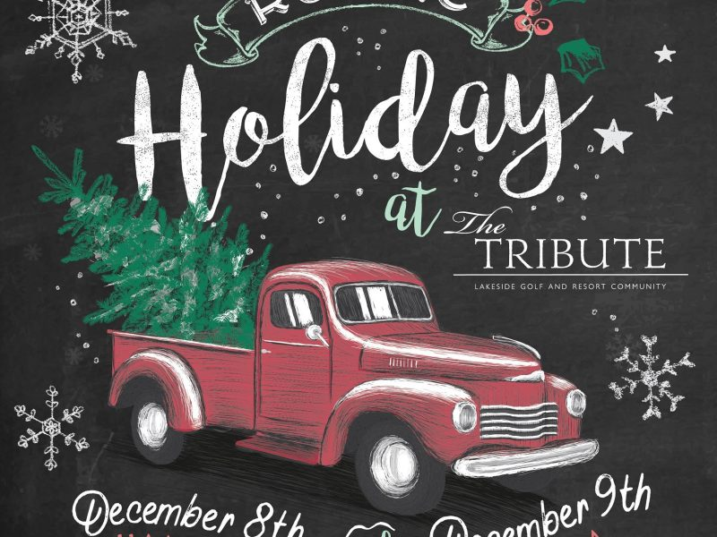 "The Tribute Introduces ""A Rustic Holiday"" Festival"
