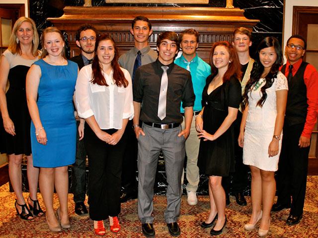 Matthews Southwest Awards $500 Scholarship to Little Elm Top Ten Seniors