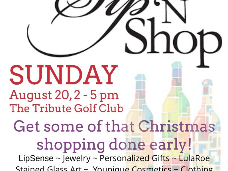 Take Care of Holiday Shopping Early at The Tribute Sip & Shop