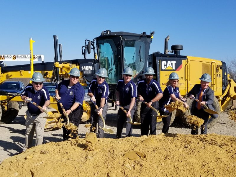 Construction Officially Underway After Groundbreaking Ceremonies