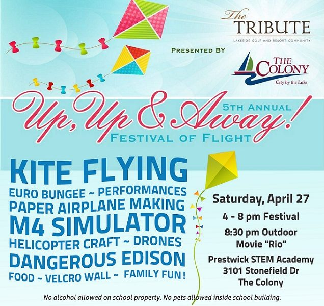 Up, Up & Away! Festival of Flight Returns for Fifth Year
